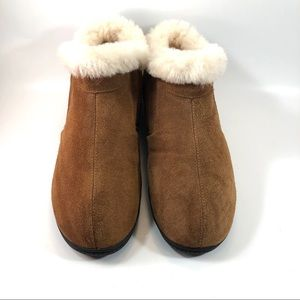 Dream Paris Shearling Lined Slippers